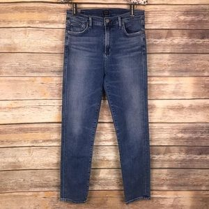 Citizens of Humanity  High Rise Crop Skinny